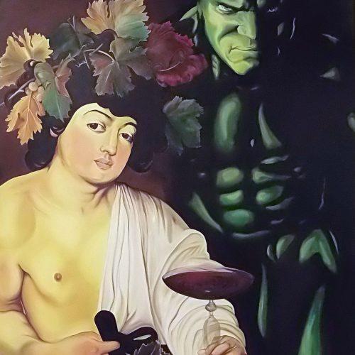 Hangover-Dr Bacchus and Mr. Hulk